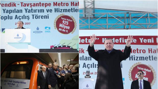 Kartal Yakacık Pendik Tavşantepe Metro Hattı Açıldı