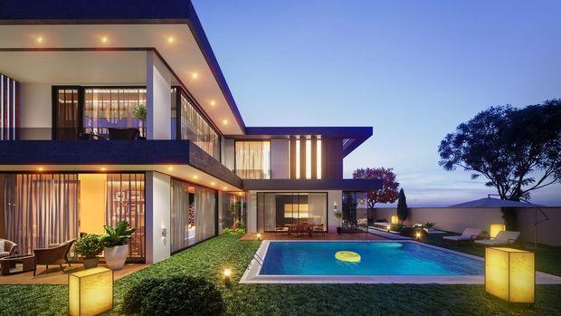 Bademli Lavinya Butik'te 1 Milyon 900 Bin TL'ye 4+1 Villa