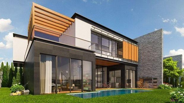 Bademli Lavinya Konakları'nda 2 Milyon TL'ye 4+1 Villa