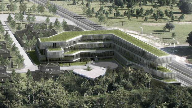 Metal Yapı Kemerlife Ofis Kemerburgaz'da Yükseliyor