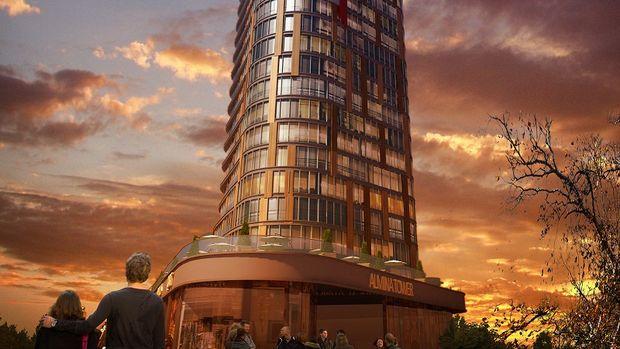 Almina Tower Projesinde 10 Bin TL Peşinatla 199 Bin TL
