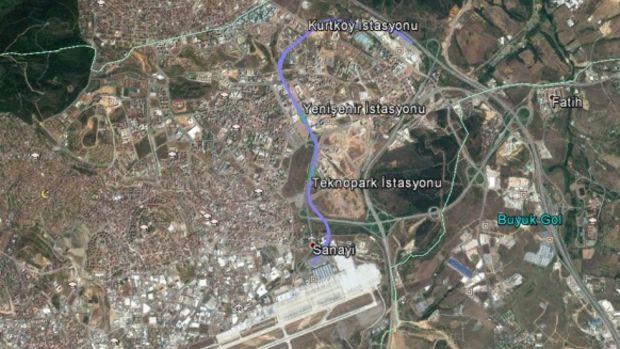 Sabiha Gökçen Kurtköy Metro Hattı Başlıyor