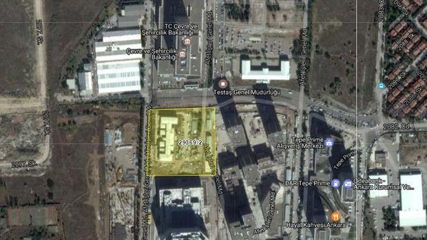 Çevre ve Şehircilik Bakanlığı'ndan Çankaya'da Satılık Arsa