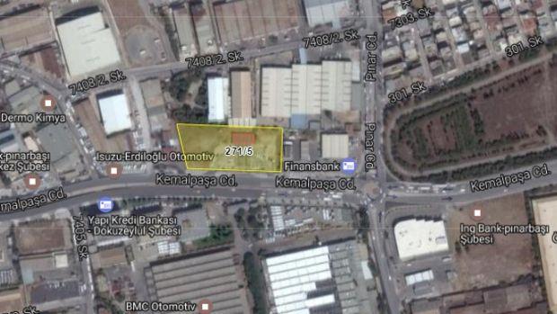 İzmir Bornova Belediyesi'nden 15,5 Milyona Satılık Arsa