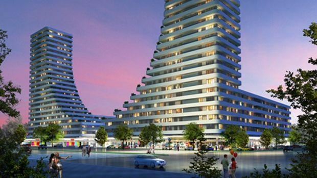 Harmony Towers Fiyatları 478 bin TL'den Başlıyor.