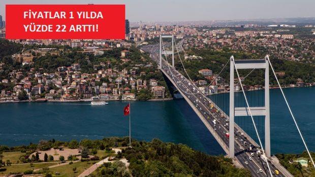 İstanbul'da Konut Fiyatları En Çok Bu 4 İlçede Arttı