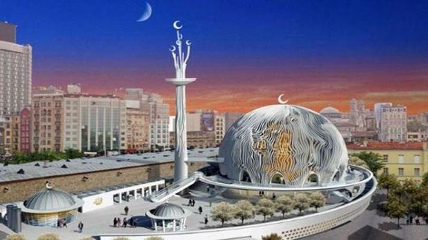 Taksim Camii Projesinde İlk Kazma Yarın Vuruluyor