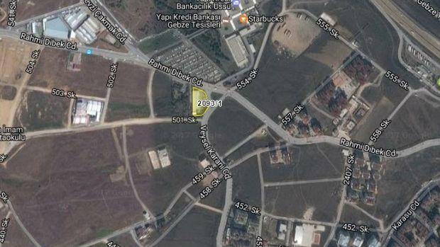 Çayırova Belediyesi'nden 10,5 Milyona Satılık Arsa