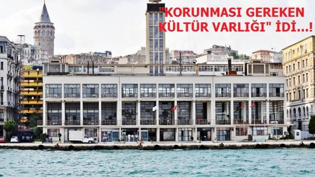 77 Yıllık Tarihi Karaköy Yolcu Salonu Yıkıldı