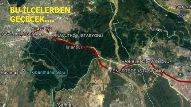 Sultangazi Arnavutköy Metro Hattının ÇED Süreci Başladı