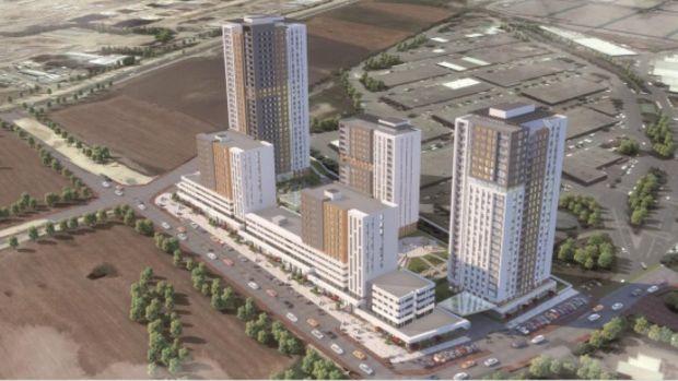 Sur Yapı'dan Bahçekent'te 755 Konutluk Yeni Proje