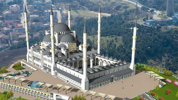 Çamlıca Camii'ye Işık Geliyor