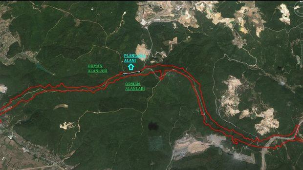 Kuzey Marmara Otoyolu Hüseyinli-Şile İmar Planı Askıda