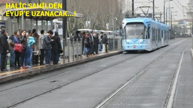 Eminönü Eyüp Tramvay Hattı Geliyor