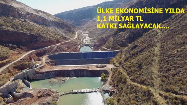Silvan Barajı Projesinde Sona Doğru