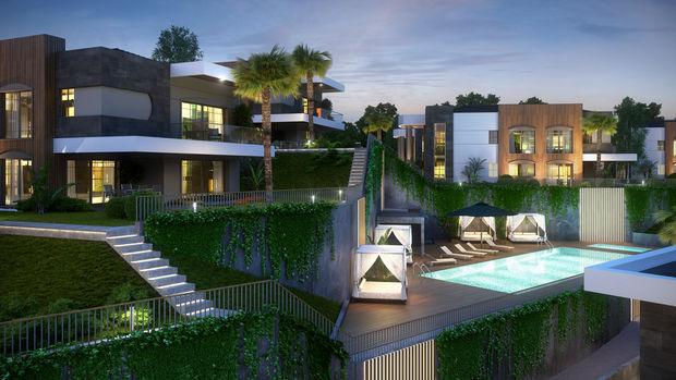 Villanova Evleri İzmir Fiyatları 1 Milyon 450 bin Dolardan Başlıyor