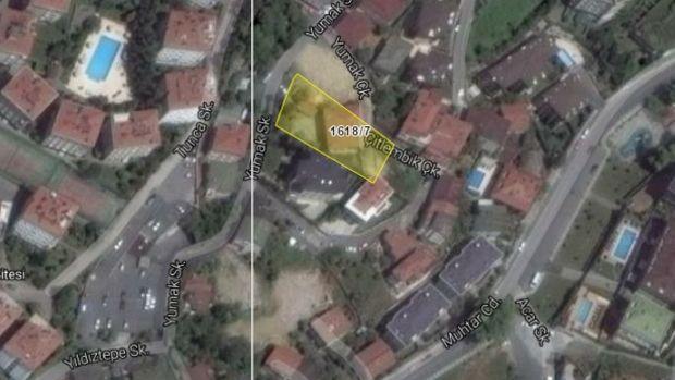 İBB'den Sarıyer Tarabya'da Satılık Arsa
