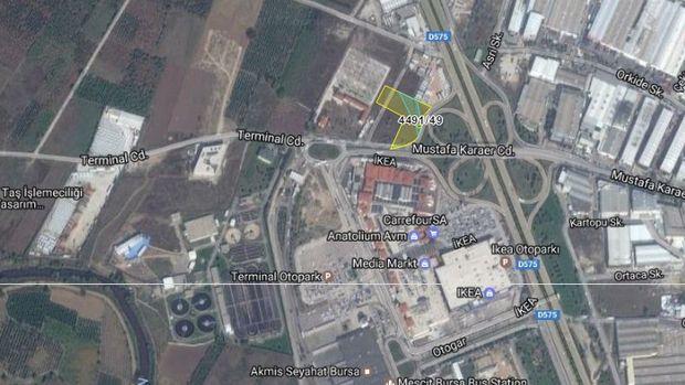 Bursa Büyükşehir Belediyesi'nden Osmangazi'de Satılık Arsa