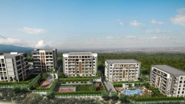 Batıkent Residence Projesinde 375 Bin TL'ye 3+1