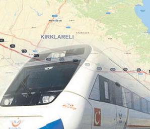 Halkalı Kapıkule Hızlı Tren Hattı Start Aldı