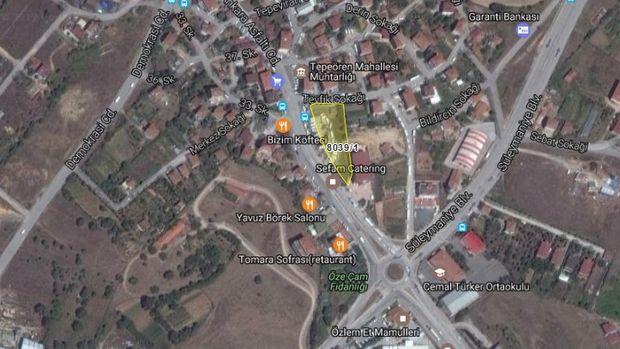 Tuzla Belediyesi'nden Tepeören'de 4 Milyona Satılık Arsa