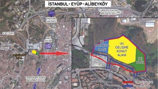 Emlak Konut Yedikule ve Alibeyköy Projelerine Ruhsat Aldı