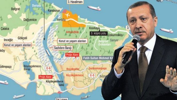 """Cumhurbaşkanı Erdoğan'dan """"Kanal İstanbul"""" Müjdesi"""
