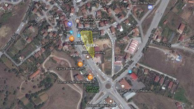 Tuzla Belediyesi'nden Tepeören'de Satılık Arsa