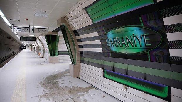 Üsküdar Ümraniye Metro Hattı Mayıs'ta Açılıyor