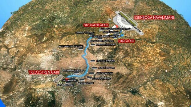 Ankara Havaalanı Metrosu Bu Yıl Başlıyor