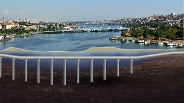 Haliç'e Su Altı Karayolu Tüneli! İşte Haliç Su Altı Karayolu TÜneli Güzergahı!