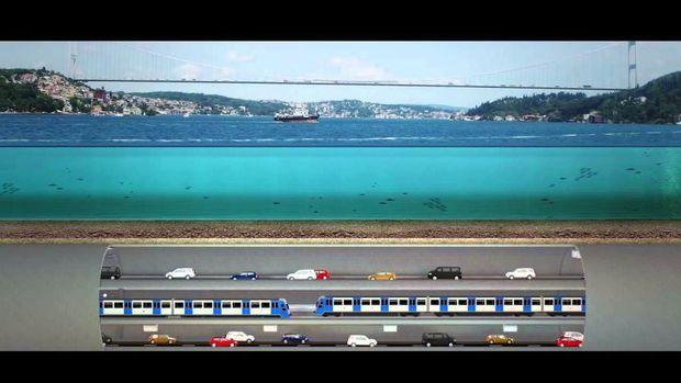 3 Katlı Büyük İstanbul Tüneli İhalesine 4 Teklif
