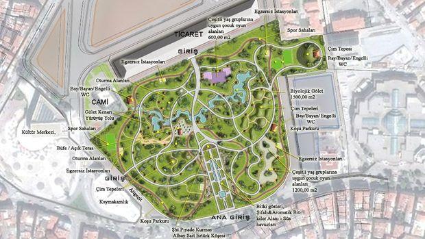 Zeytinburnu Millet Bahçesi İnşaatı Temmuz'da Başlıyor
