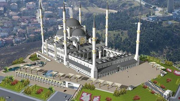 Çamlıca Camii Yılsonu İbadete Açılıyor