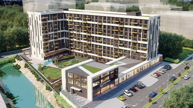 Erguvan Premium Residence'ta Bin TL Peşinatla 295 Bin TL