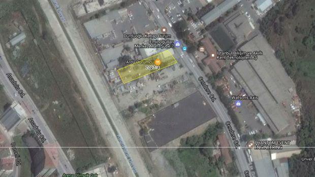 İBB'den Kağıthane Merkez'de Satılık Arsa