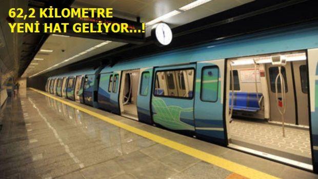 İstanbul'da 5 Yeni Metro Hattı Mayıs'ta İhaleye Çıkıyor
