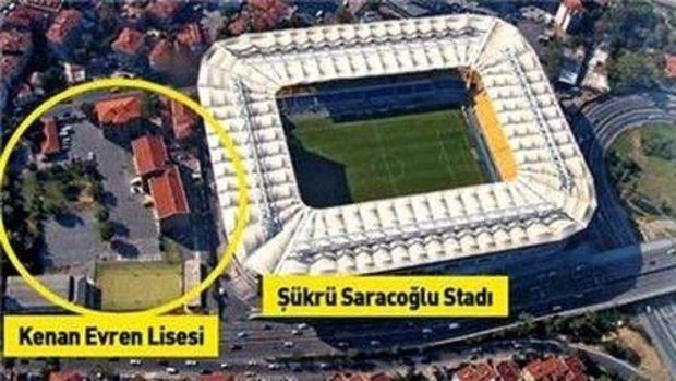 Fenerbahçe Kenan Evren Lisesi Arazisine Otel ve AVM Yapacak