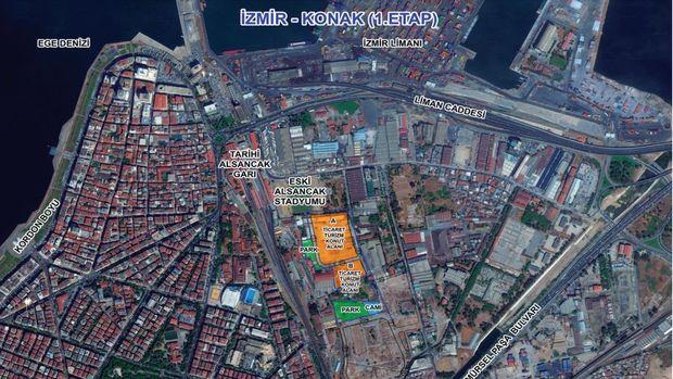 Emlak Konut İzmir Konak Arsası 12 Haziran'da İhaleye Çıkıyor