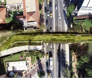 Taksim Gezi Parkı ile Maçka Parkı Arasına Ekolojik Yaya Köprü