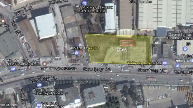 İzmir Bornova'da Satılık Arsa