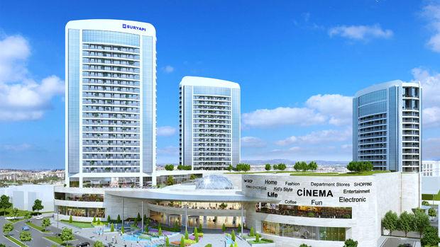 Sur Yapı Marka AVMde 3 Bin Kişilik Kapı 1 Haziranda Açılıyor