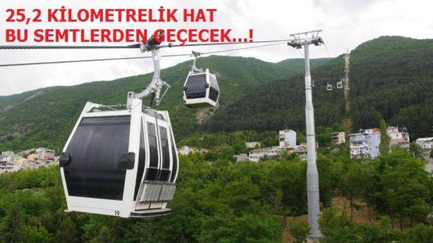 İstanbul'da 11 Yeni Teleferik Hattı Yolda
