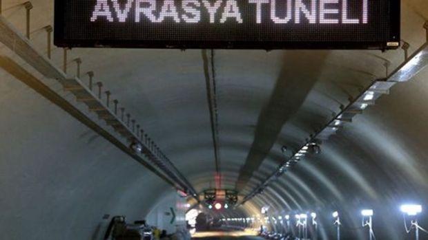 Servislere Avrasya Tüneli'nden Geçiş İzni Çıktı