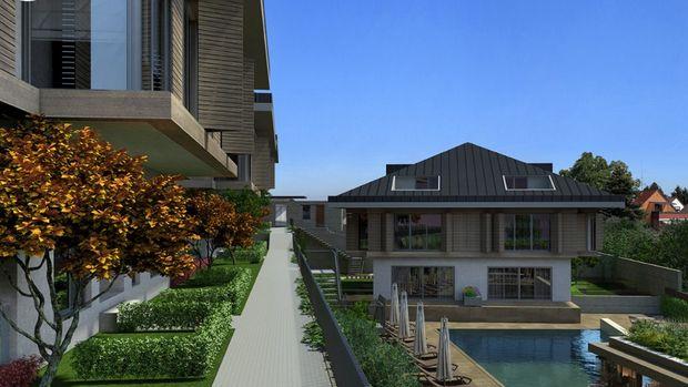 Juma Plus Tarabya'da 1 Milyon Dolara 4+1 Villa