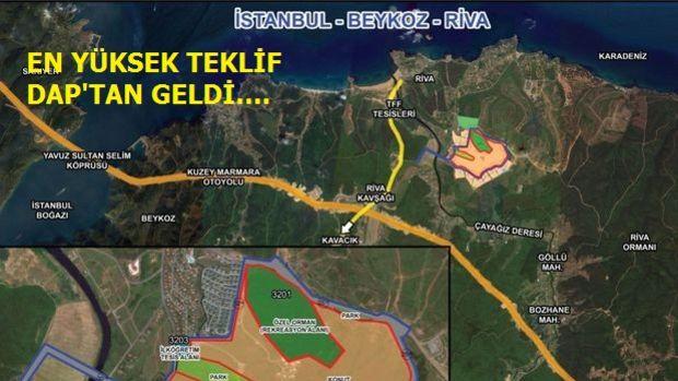 Emlak Konut Galatasaray Riva Arazisine 9 Teklif