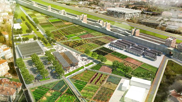 Yedikule Bostanları Kentsel Tasarım Parkı İle Yaşayacak