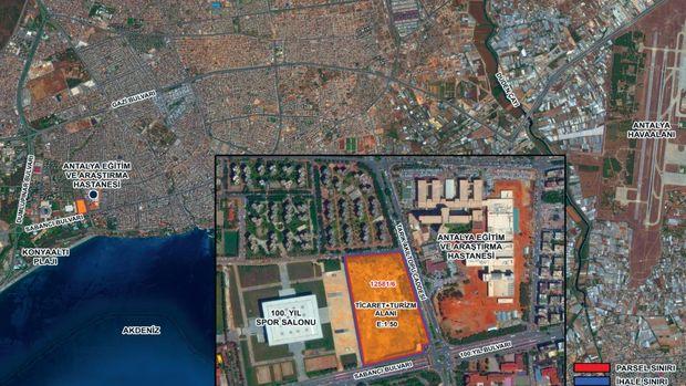 Emlak Konut Antalya Muratpaşa Arsasını 18 Temmuz'da İhaleye Çıkarıyor