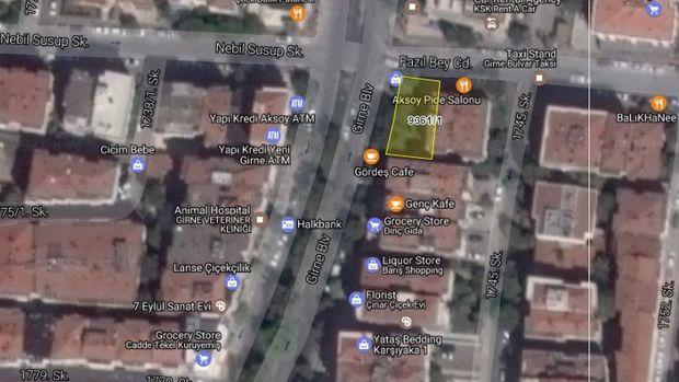 İzmir Karşıyaka'da 2 Milyon 176 Bin TL'ye Satılık Arsa
