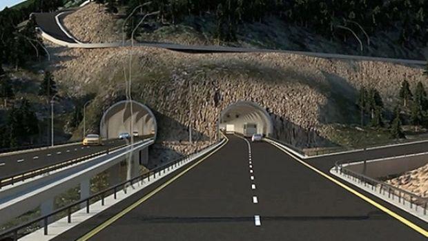 Yeni Zigana Tüneli'nin 6 Kilometresi Kazıldı